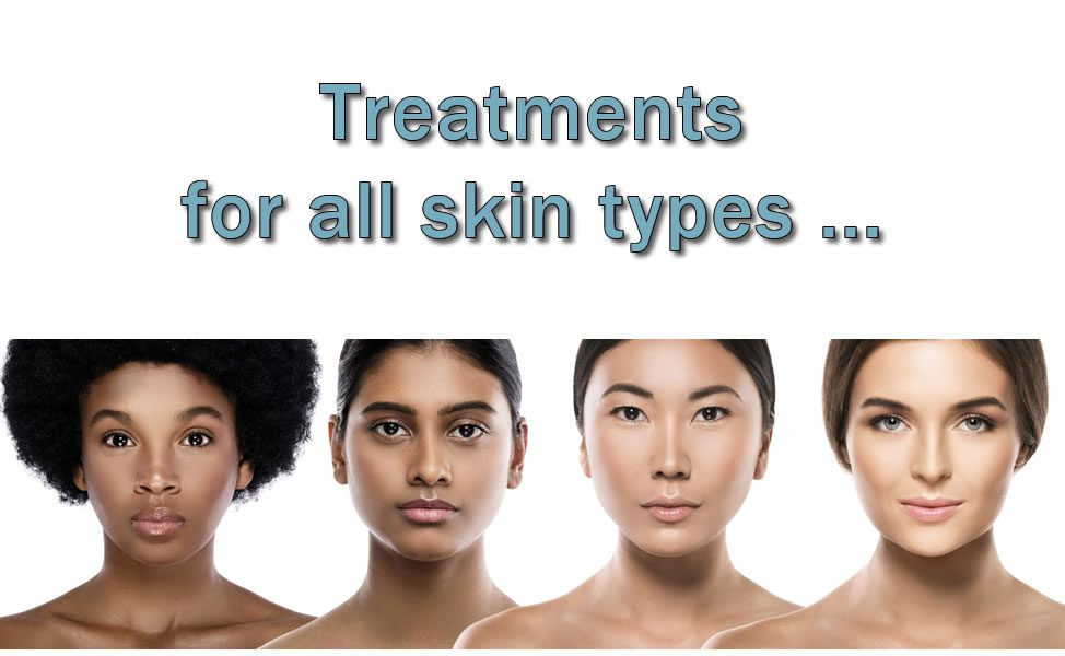 Treatments for all skin types